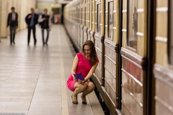Селфи в метро