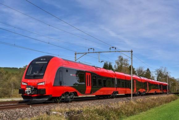 Поезд Stadler