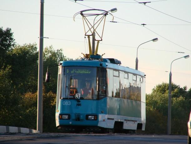Трамвай АКСМ в Минске
