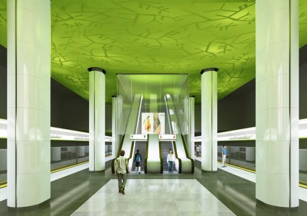 третья линия минского метро станция