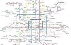 Схема пекинского метрополитена