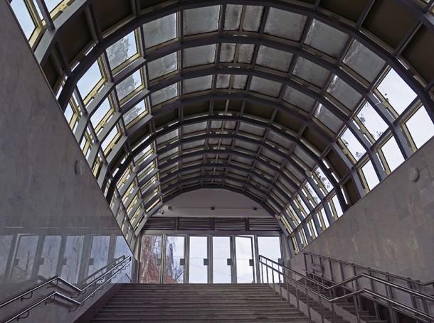 Вход на станцию Алабинская