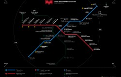 Схема минского метро Саша Чеботарев