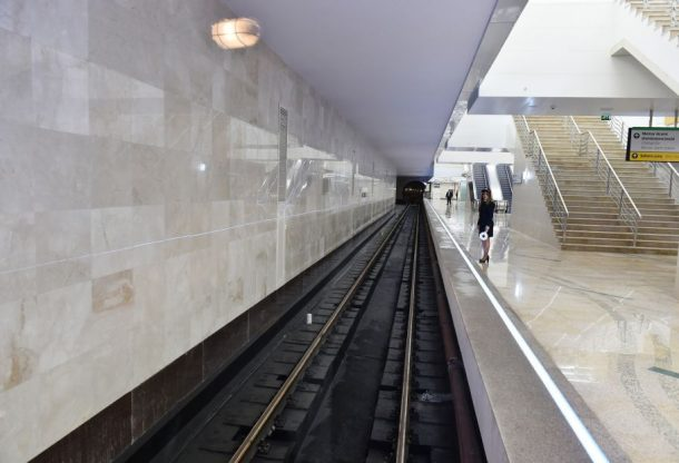 метро баку 14