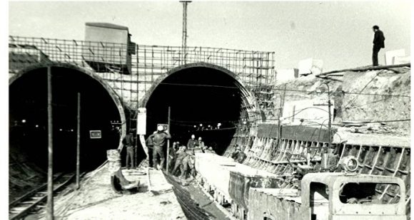 строительство ереванского метро 7