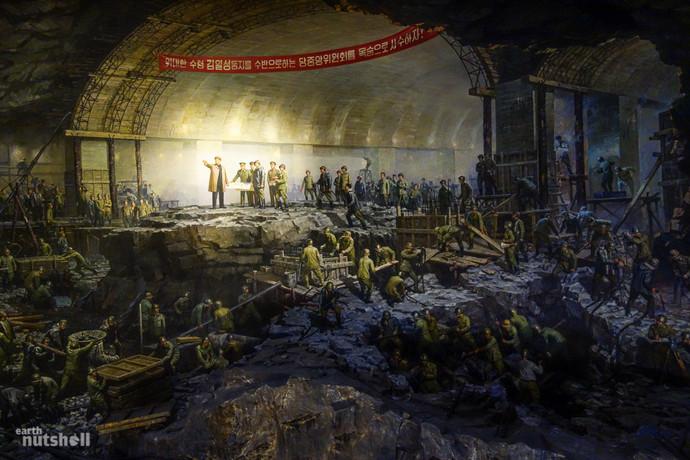 Фото метро Пхеньяна
