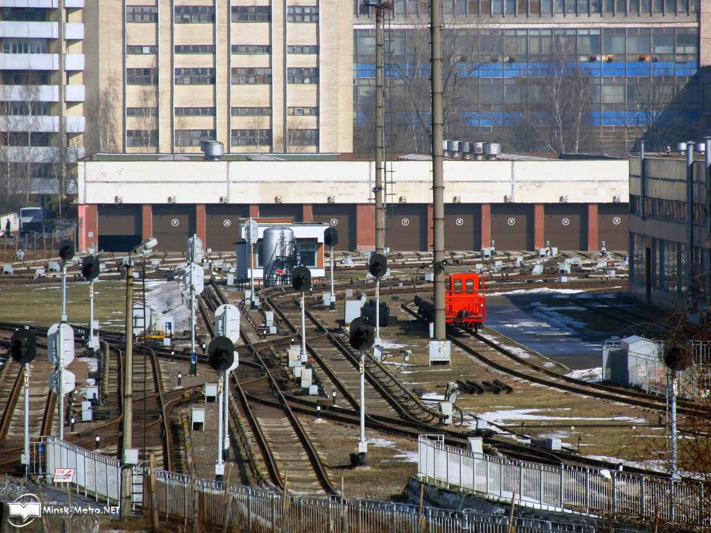 Электродепо Московское Минского метрополитена
